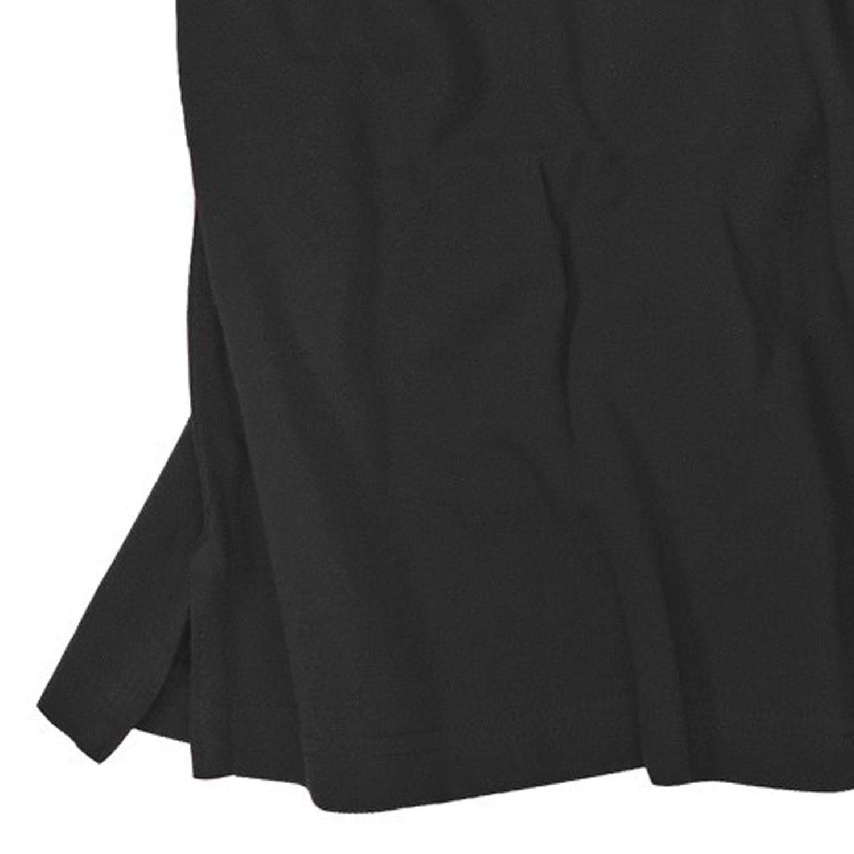 Image de détail de Polo noir de Redfield en grandes tailles jusqu'au 8XL