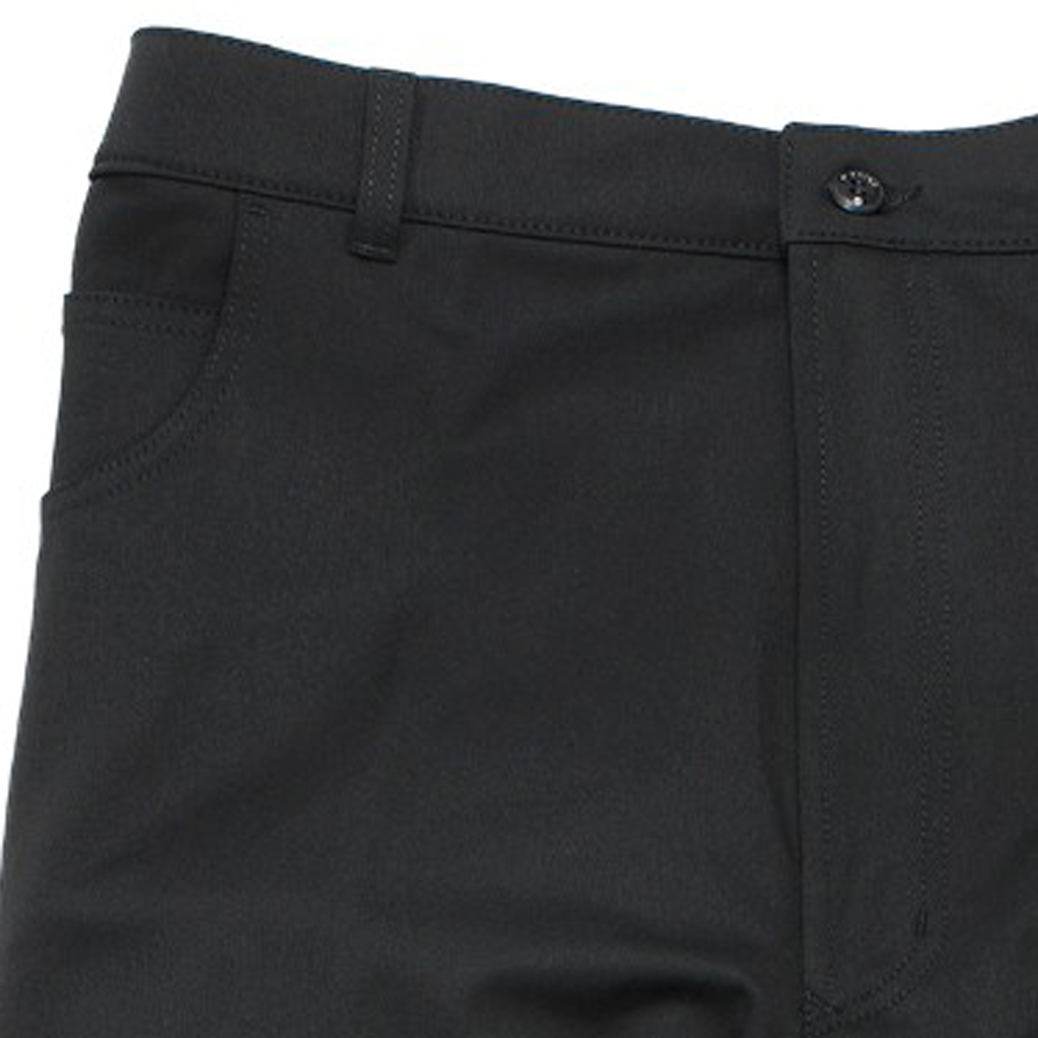 Detail Image to Sporty trousers in black by Pionier in oversizes until 36 and 64