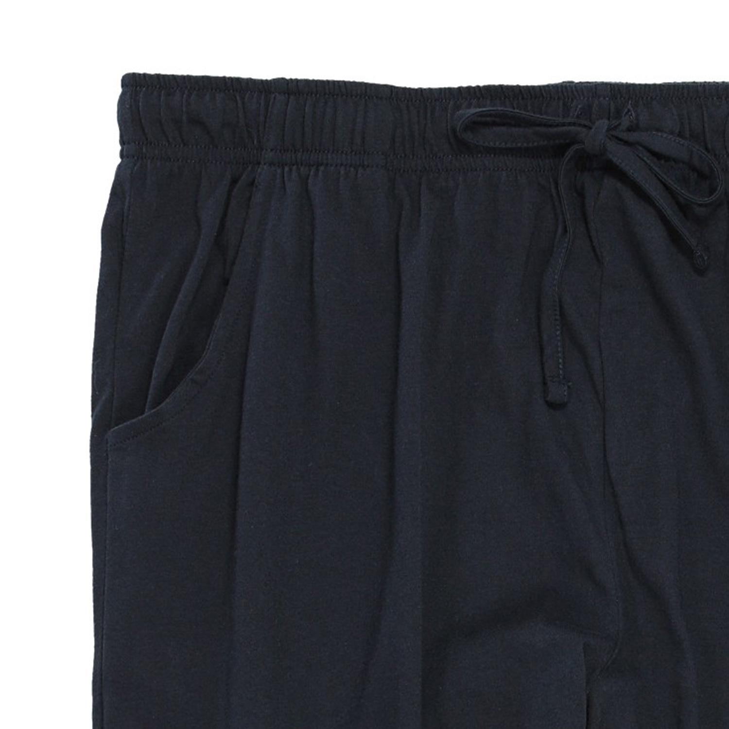 Detail Image to Pyjama shorts in dark blue by Ceceba in oversizes up to 9XL