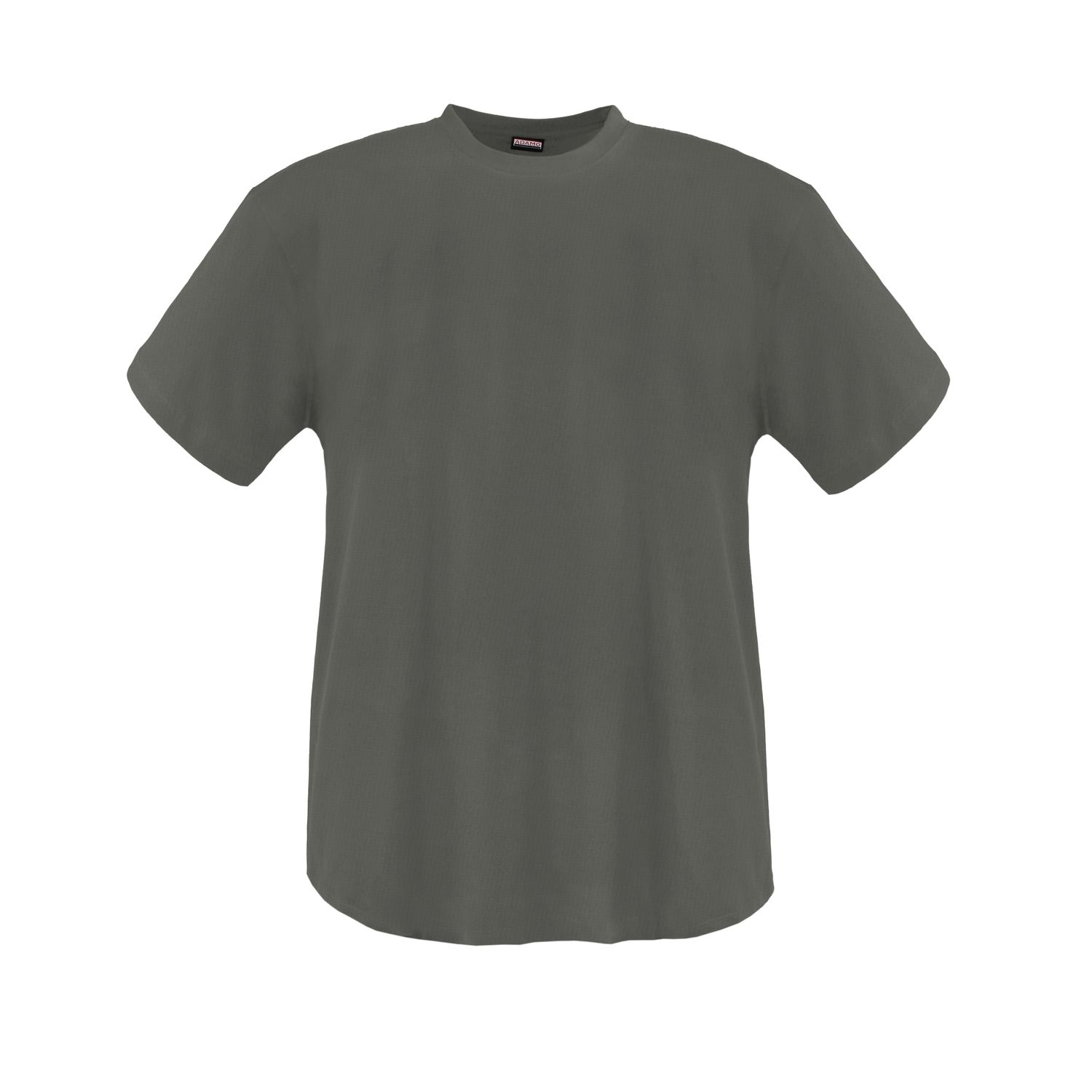 Detail Image to Double pack olive MARLON t-shirt by ADAMO up to kingsize 12XL