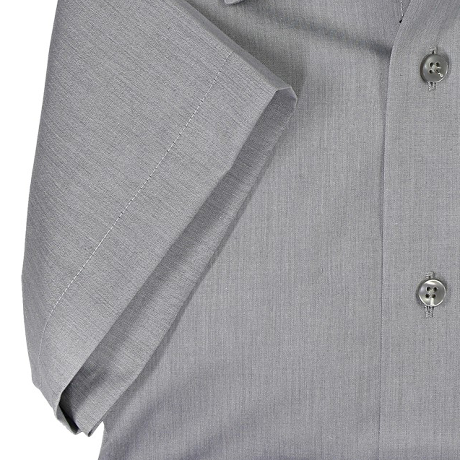Detail Image to Gray shirt short by Casamoda in plus size up to 7XL