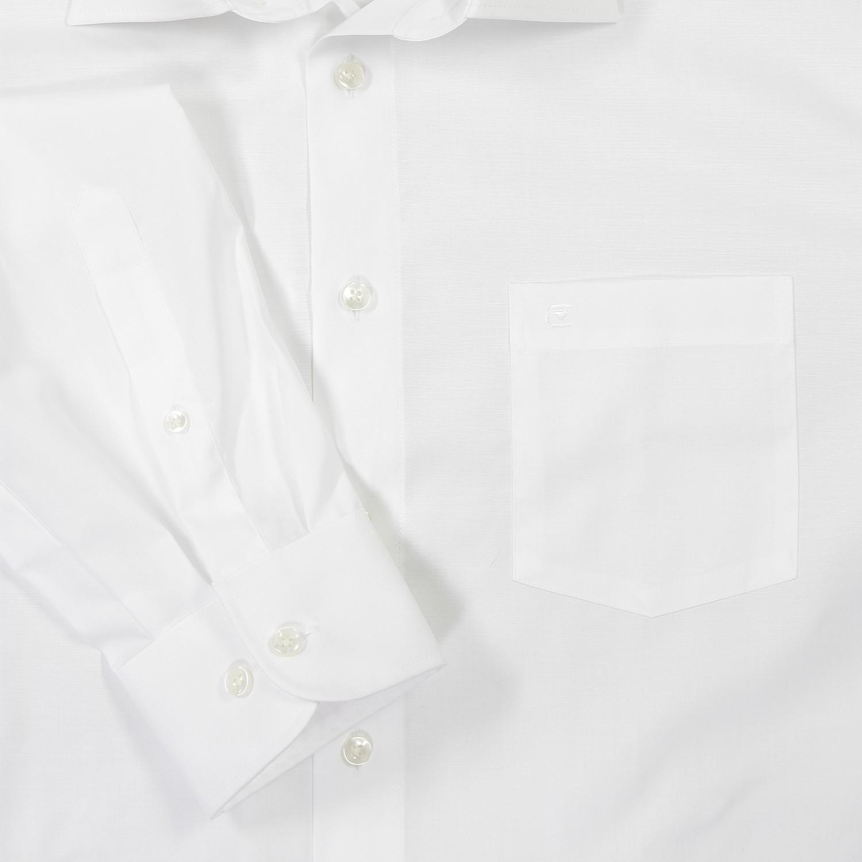 Image de détail de Chemise blanche de Casamoda grande taille jusqu'au 7XL