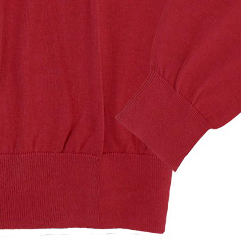 Detailbild zu Roter Strickpullover von Casamoda bis 6XL