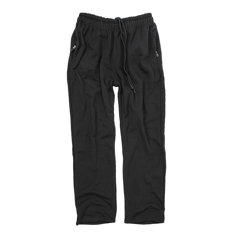 Image de détail de Pantalon de jogging noir modèle ALBERT de Rockford grandes tailles jusqu'à 8XL