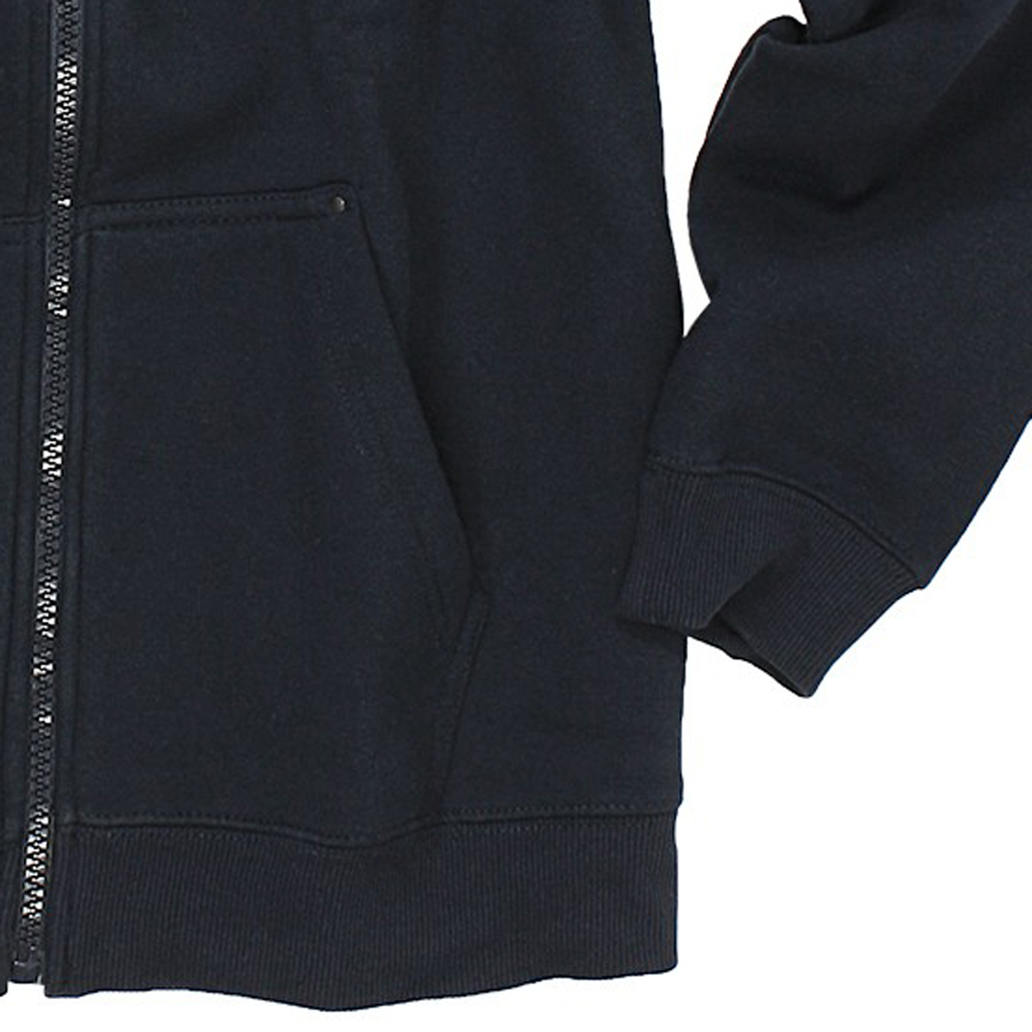 Detail Image to Hoody jacket Modell CANTOR in blue from Rockford in king sizes up to 8XL
