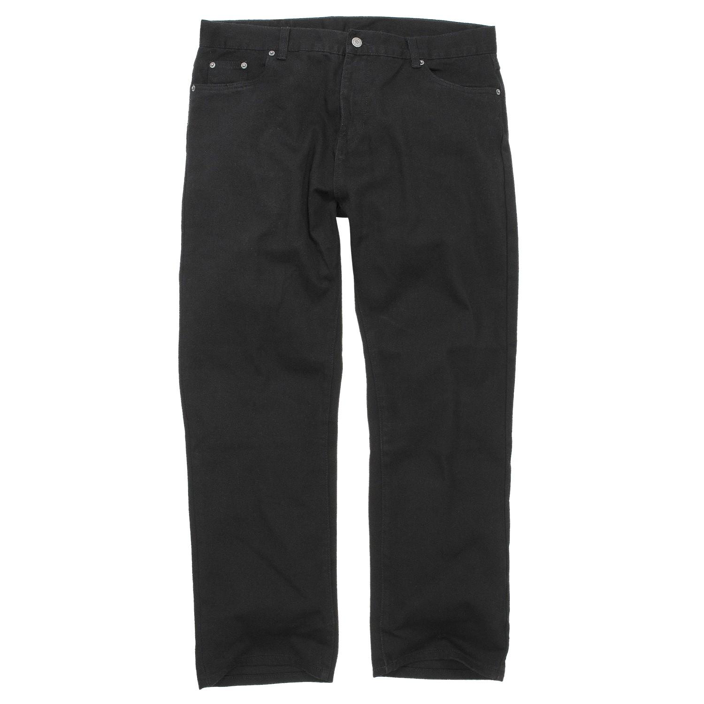 Detailbild zu Schwarze Jeans von Lavecchia in großen Größen bis 50
