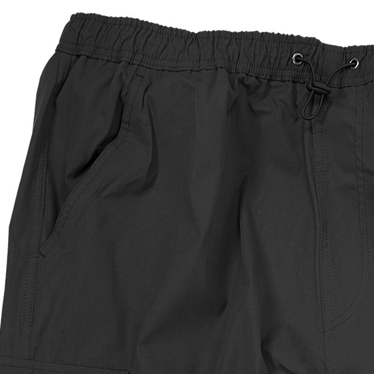 Detail Image to Zip-off-cargo-bermuda in black by Abraxas up to oversize 10XL