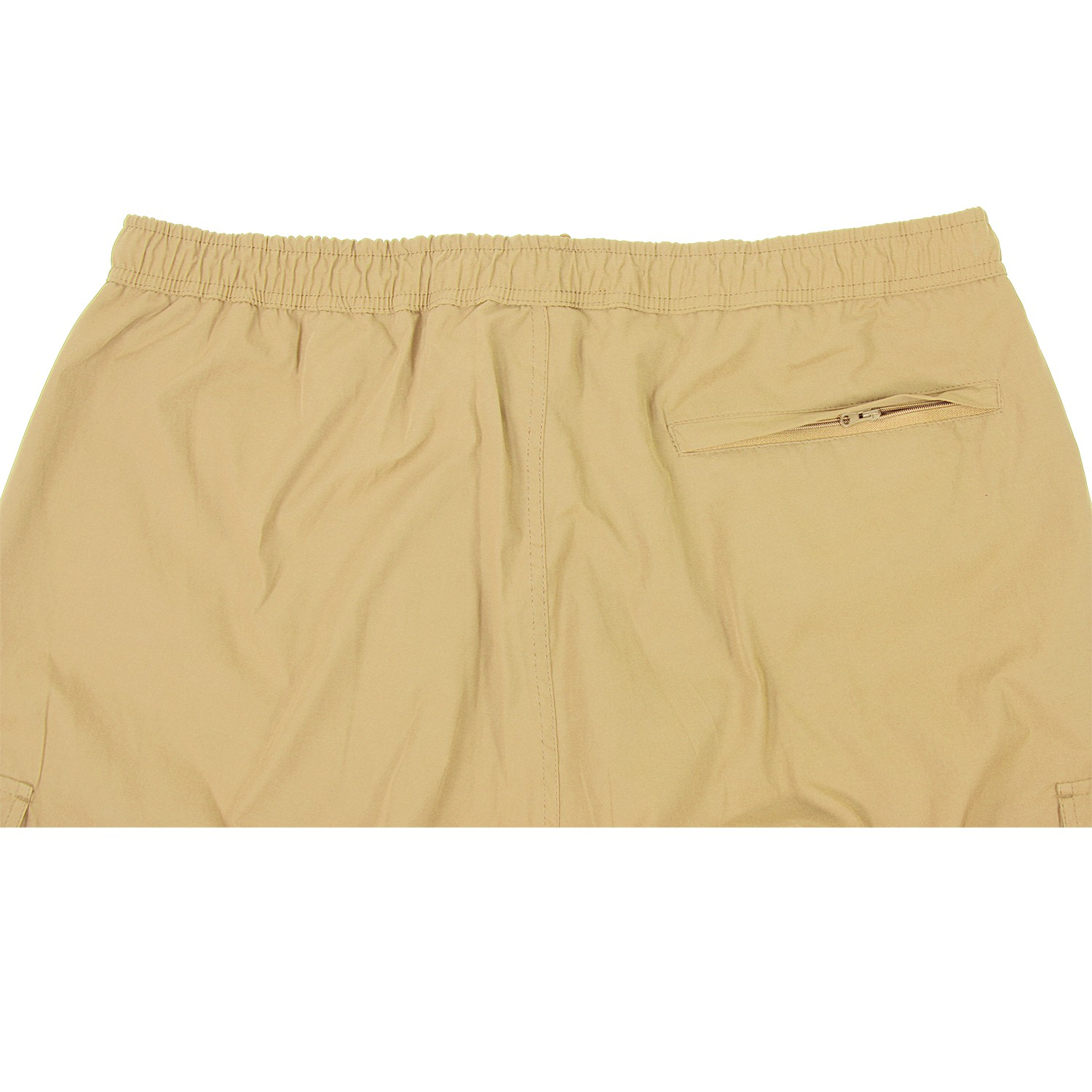 Detail Image to Zip-off-cargo-bermuda sand-coloured by Abraxas in large sizes up to 10XL