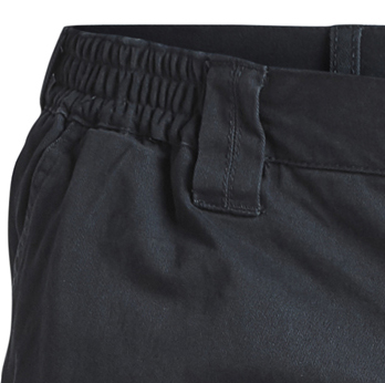 Detail Image to Navy cargo shorts by North 56°4 in oversizes up to 8XL