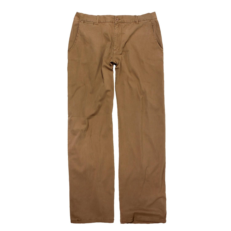 Image de détail de Pantalon chino brun de Greyes grandes tailles jusqu'à 60