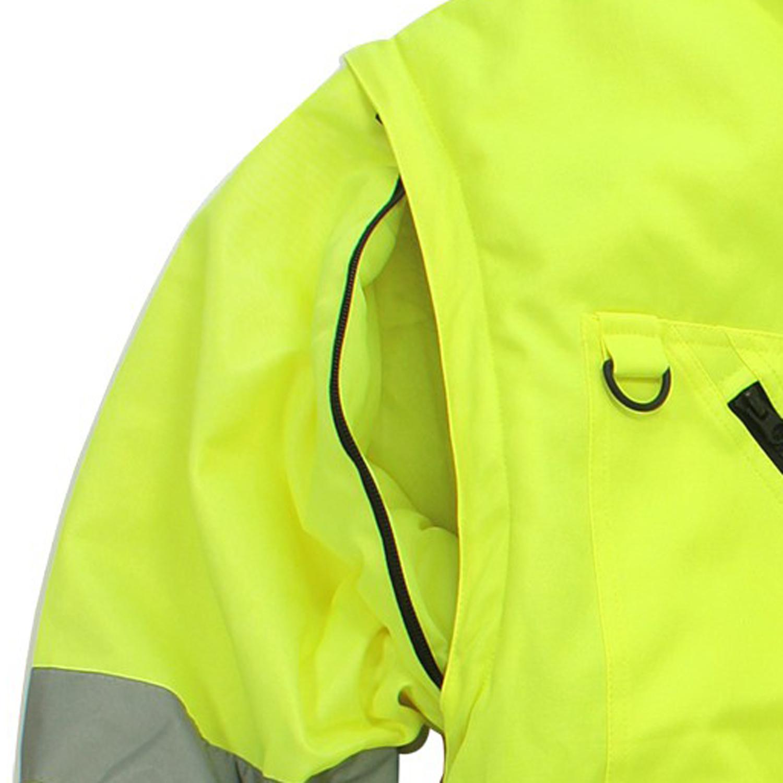 Detailbild zu Neongelbe Arbeitsjacke / -weste von marc&mark in großen Größen bis 10XL