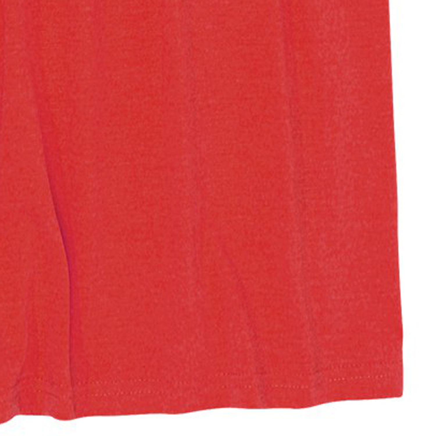 Detail Image to T-shirt in red with crew neck by redfield in extra large sizes up to 8XL