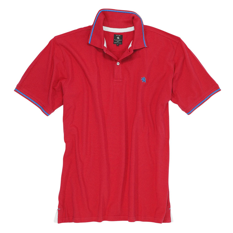 Kitaro Polo Shirt Basic Men/'s Long Sleeve Cotton plus Size