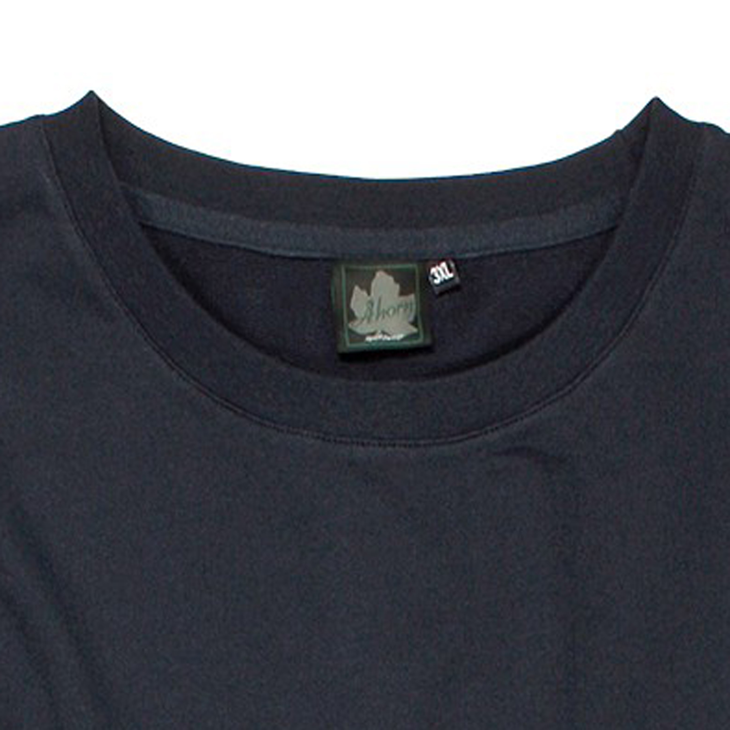 Detail Image to Sweatshirt with fine lining in dark blue by Ahorn Sportswear up to oversize 10XL