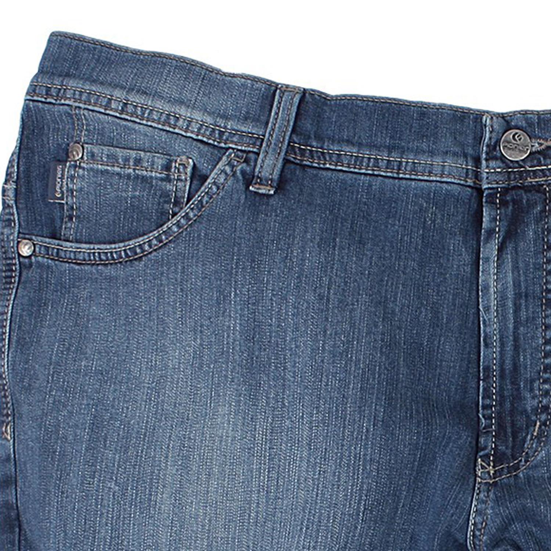 Detailbild zu Kurze blaue Jeans von Pionier in großen Größen bis 64 und 36