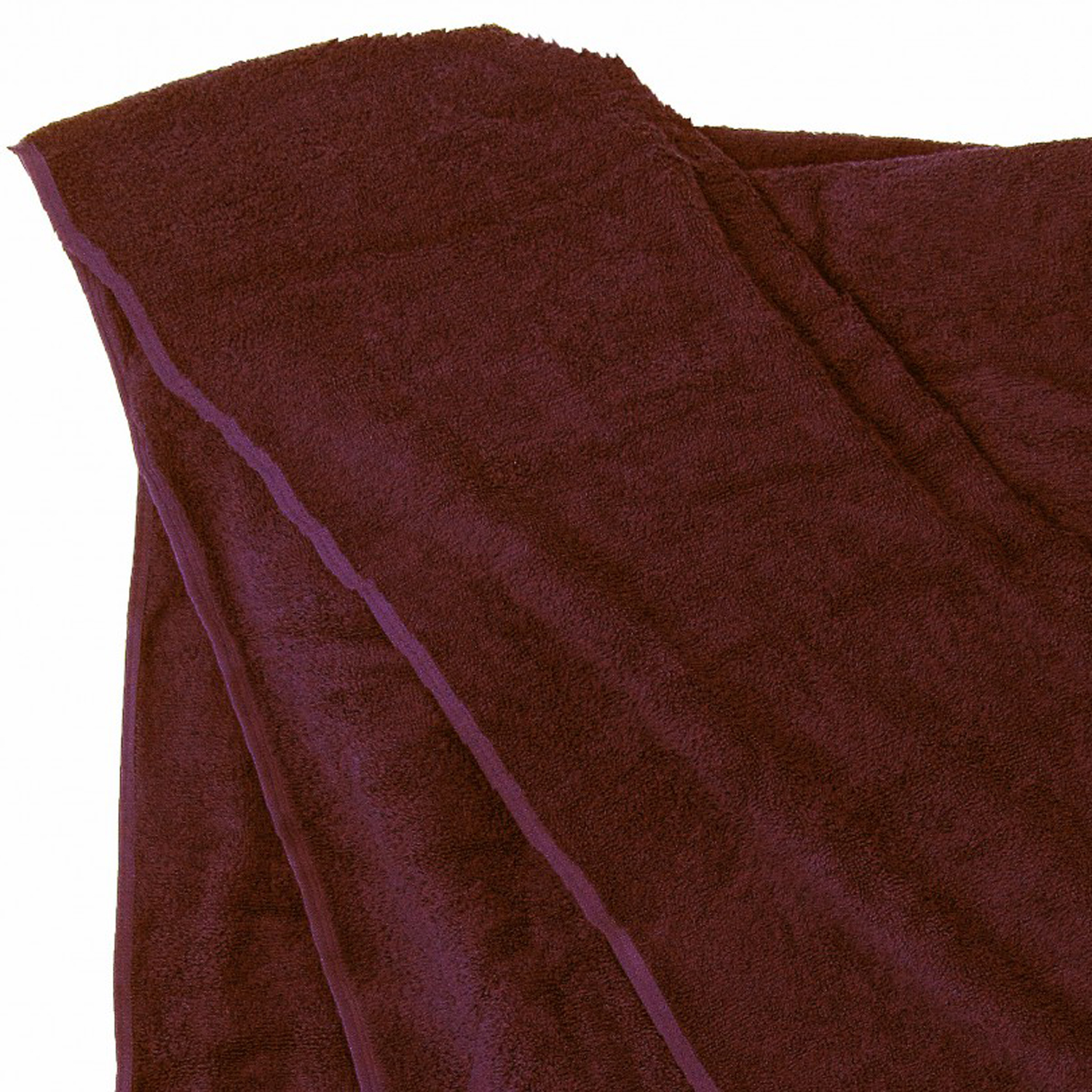 Detail Image to Bath towel in brown by Kapart in large sizes 100x220 cm and 155x220 cm