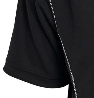 Image de détail de Shirt fonctionelle de North 56°4 grandes tailles jusqu'au 8XL // noir