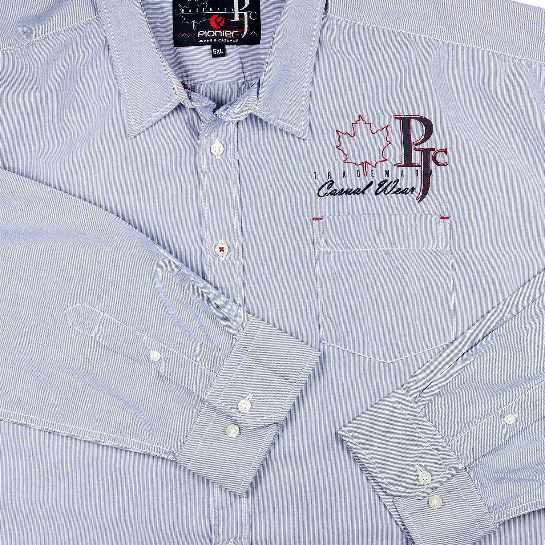 Detailbild zu Hemd in Übergrößen, hellblau by Pionier bis 6XL