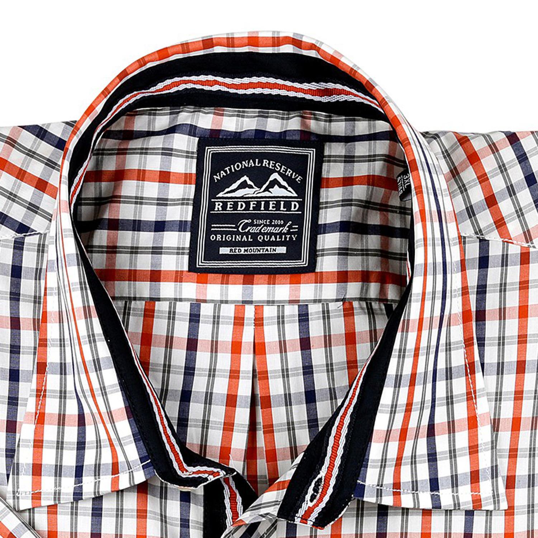 Detailbild zu Hemd in Übergrößen mehrfarbig von Redfield Bis 6XL