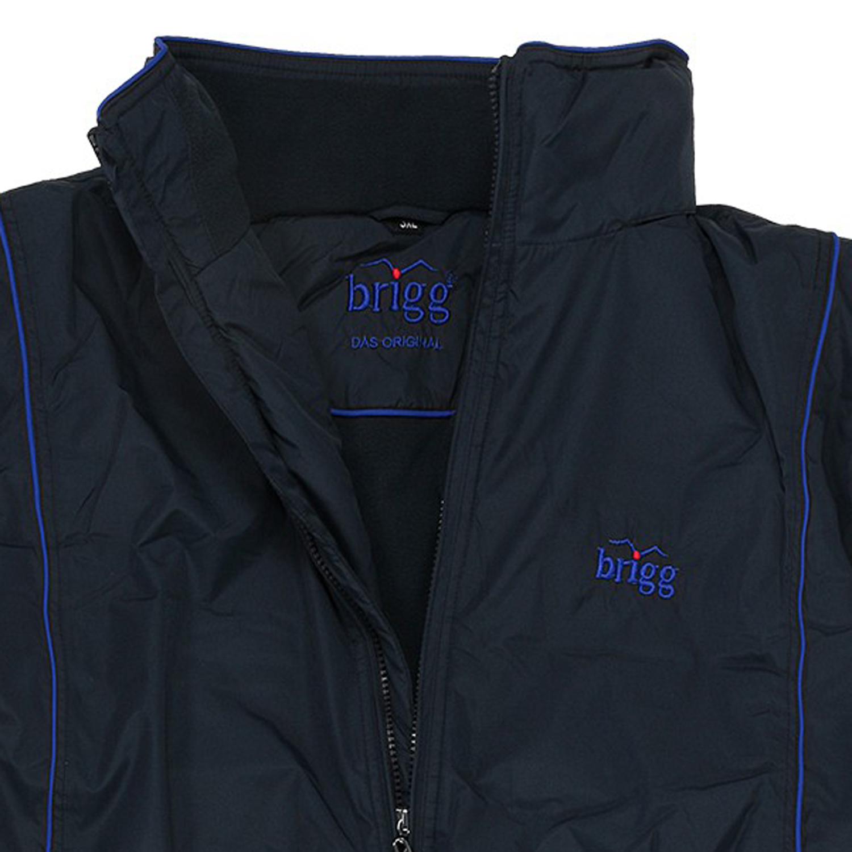 Detailbild zu Wasserdichte Jacke in Übergrößen, dunkelblau-royalblau von Brigg bis 14XL