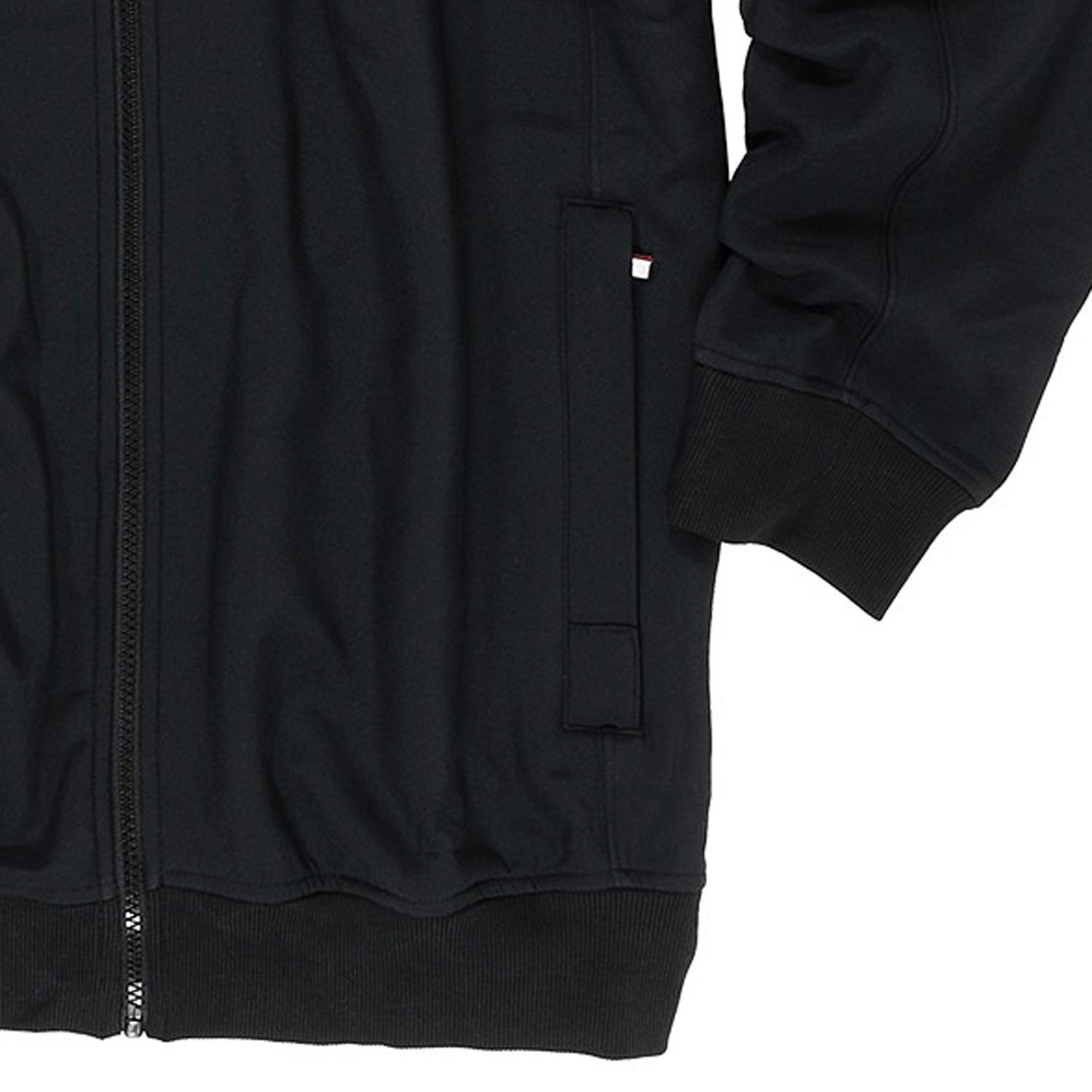 Detail Image to Sweat jacket in black by Redfield up to oversize 6XL