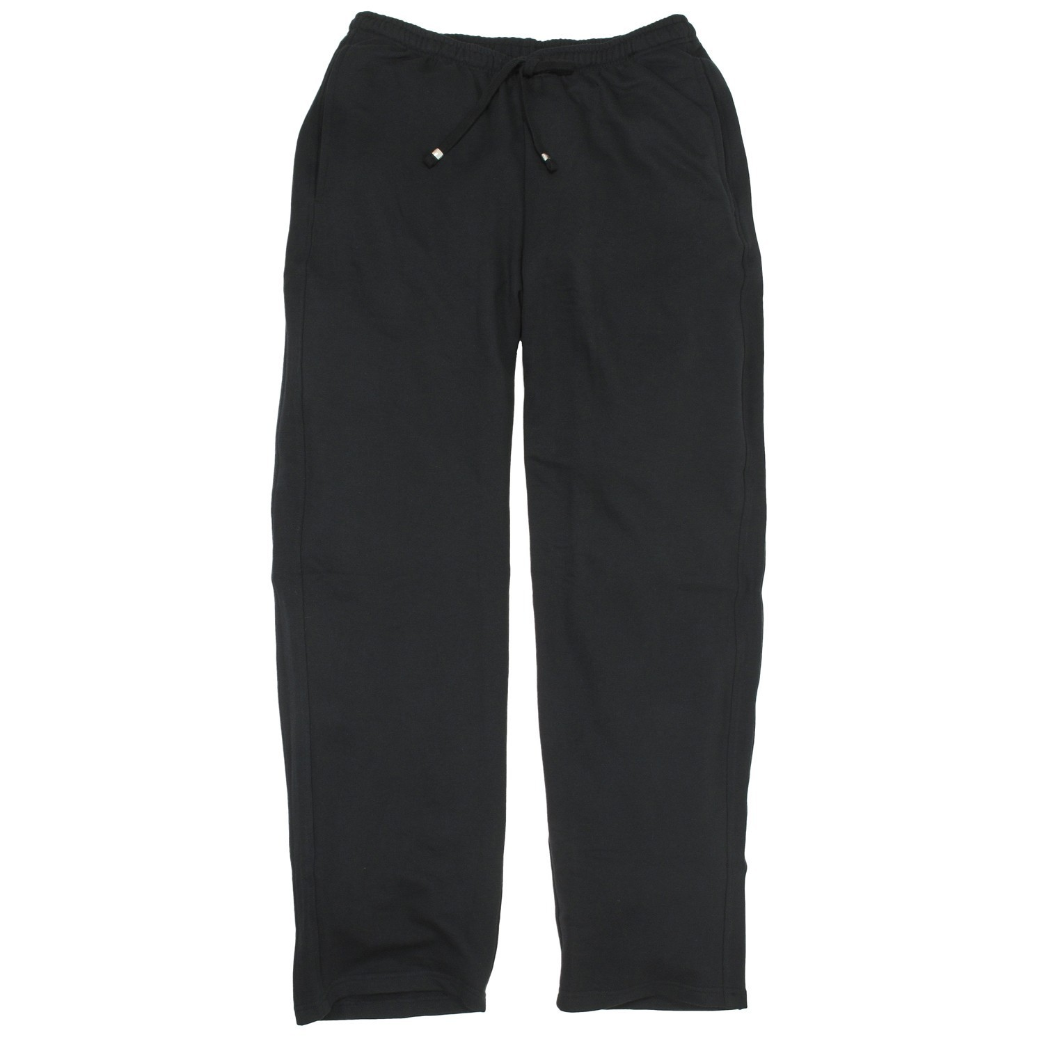 Detail Image to Black sweat pants by Redfield in plus sizes up to 8XL