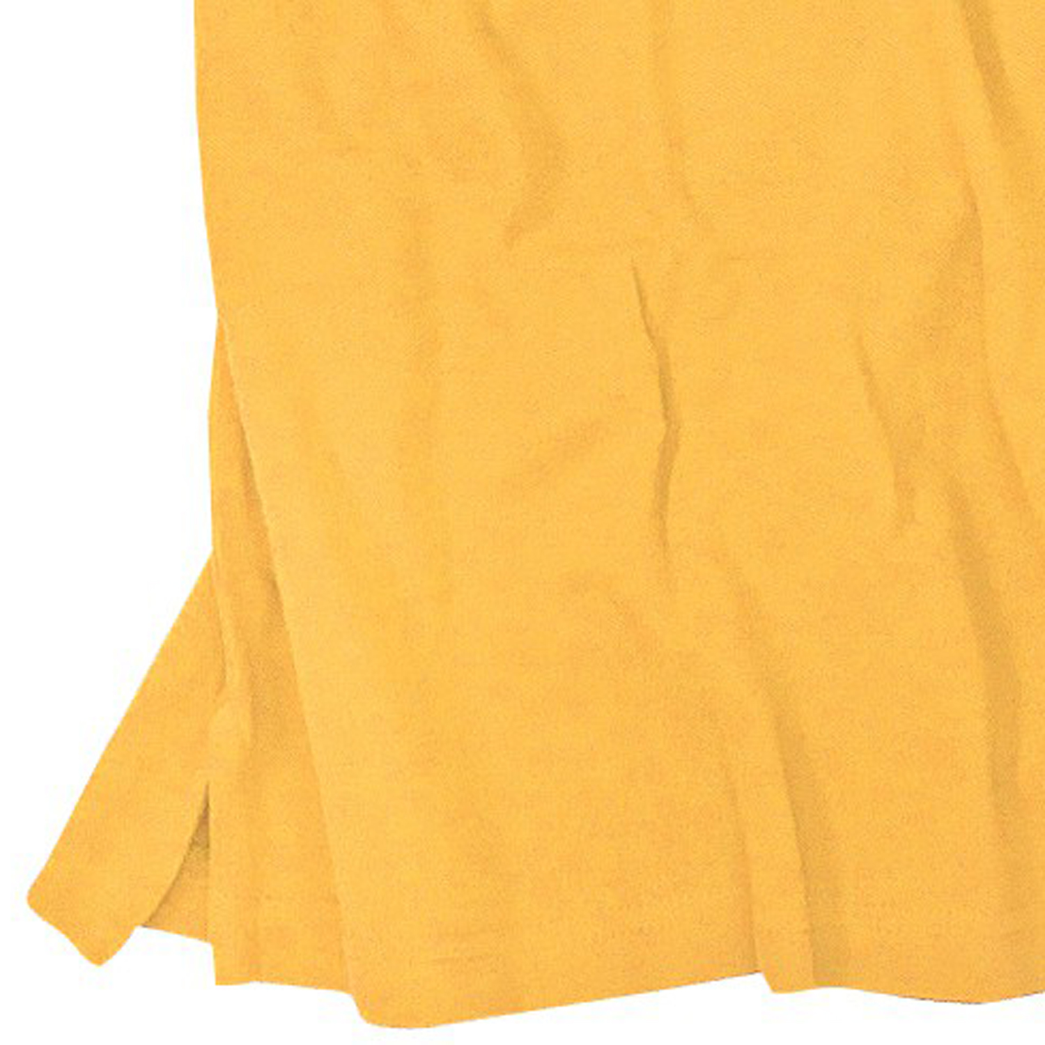 Detail Image to Polo shirt in yellow by Redfield in plus sizes up to 10XL