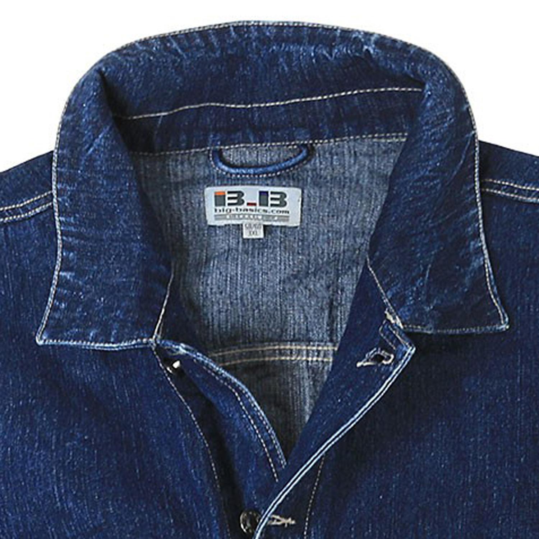 Image de détail de Veste en jean bleu de BigBasics grandes tailles jusqu'au 8XL