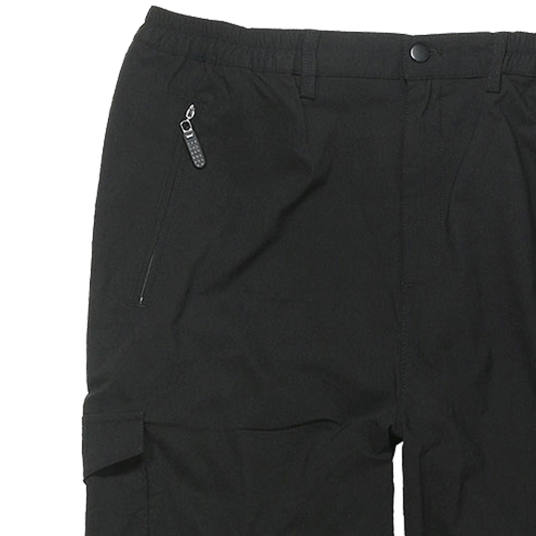 Detailbild zu Schwarze Zipp-Off-Hose von Abraxas bis Übergröße 10XL