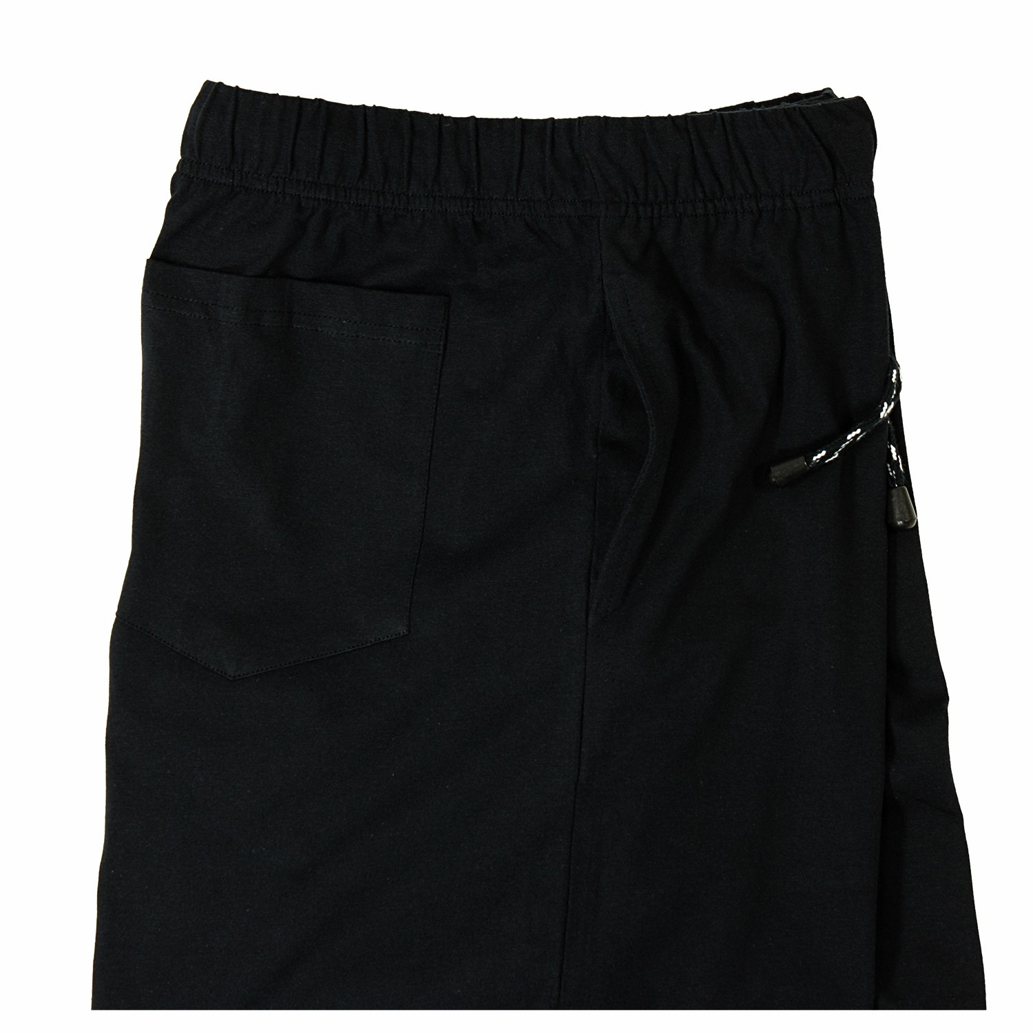 Detail Image to Long pyjama pants in black by ADAMO in plus sizes up to 9XL