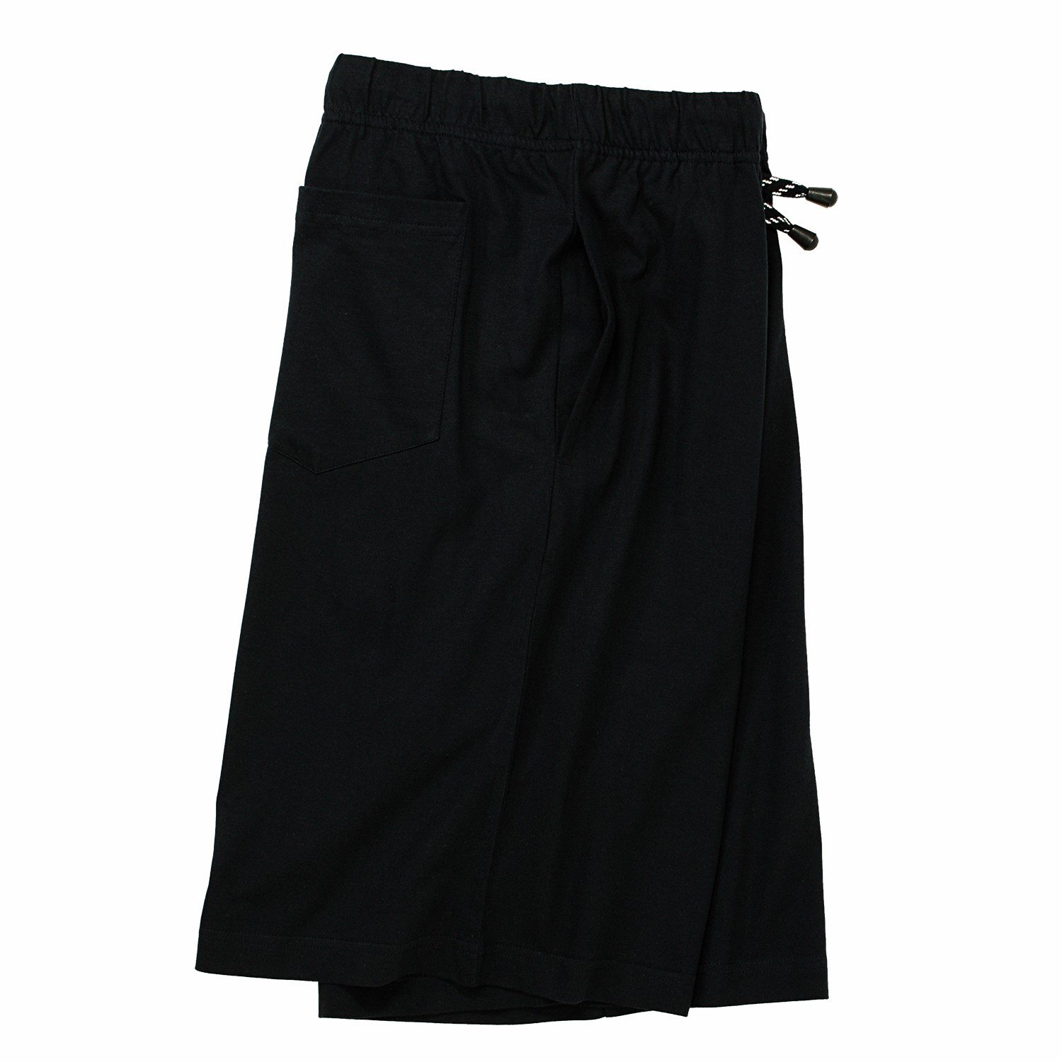 Detail Image to Short sleep pants in oversizes by ADAMO black up to 10XL