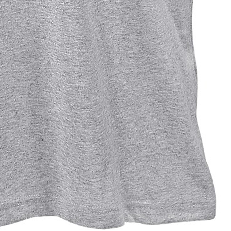Image de détail de T-shirt gris de Lavecchia grandes tailles jusqu'au 7XL