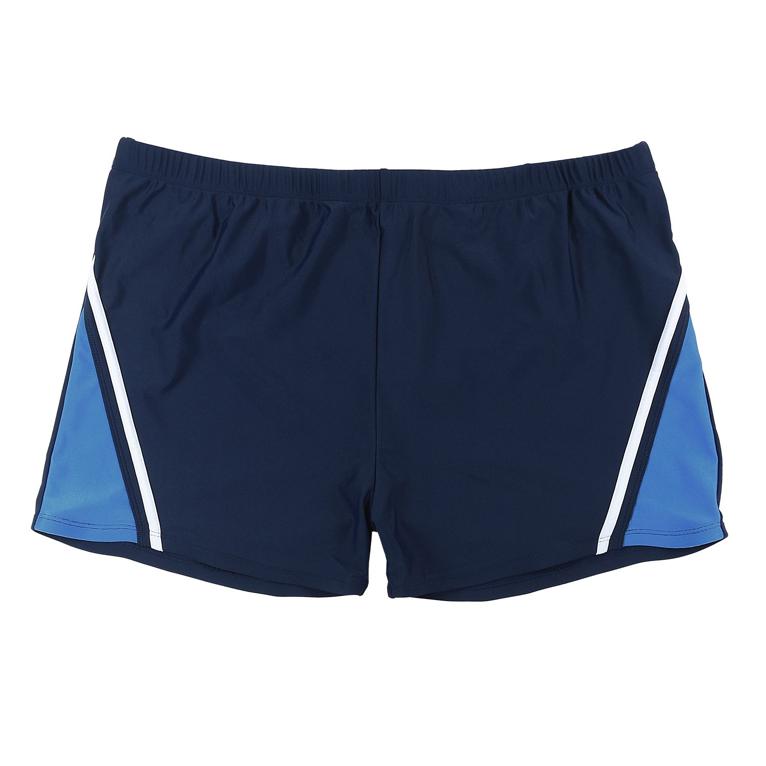Detail Image to Swimming trunks in navy/royal by Abraxas in oversizes up to 8XL