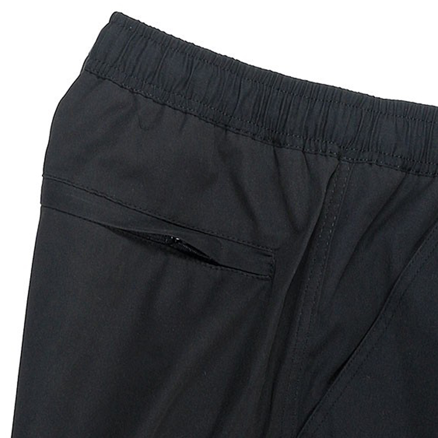 Detail Image to Shorts in black by Abraxas up to oversize 10XL