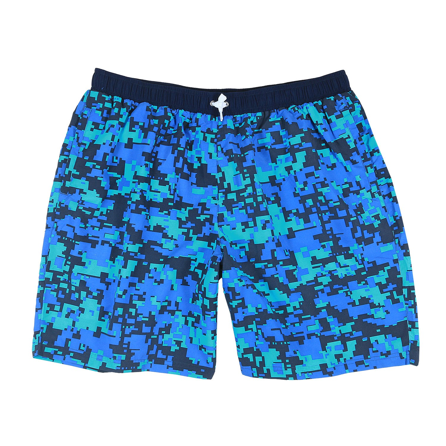 Detail Image to Abraxas swimming trunks in big sizes up to 10XL, print blue