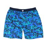 Abraxas swimming trunks in big sizes up to 10XL, print blue