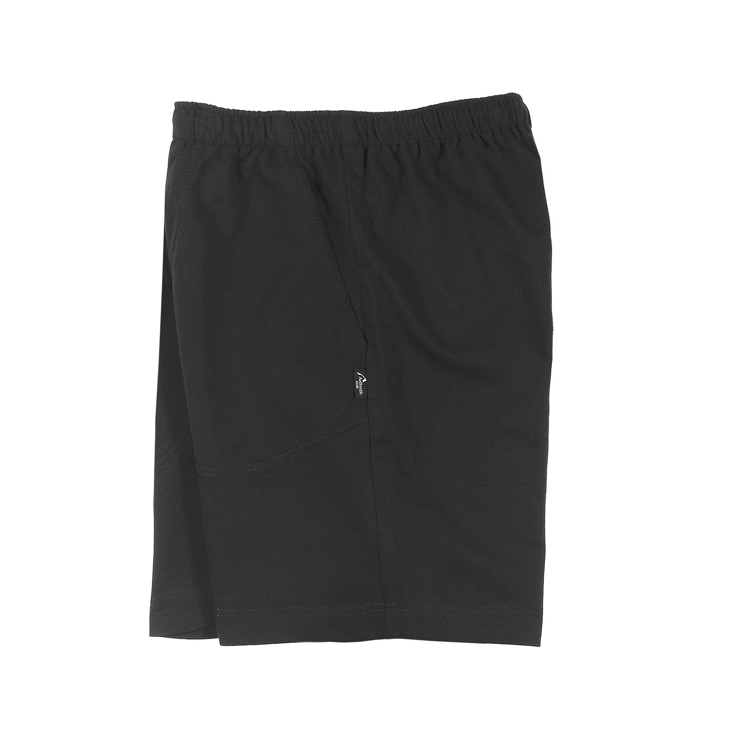 Detail Image to Sports and leisure bermuda in black, plus sizes by AUTHENTIC KLEIN