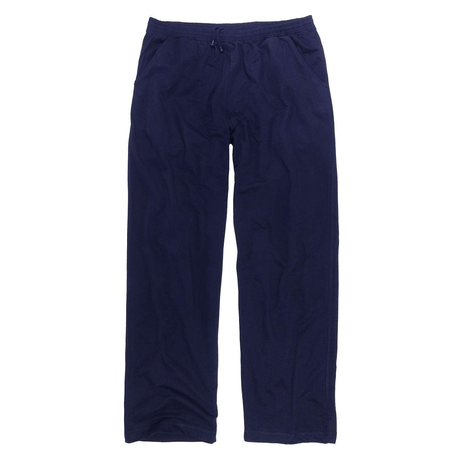 Detail Image to Blue sweat pants by Big Basics in plus sizes up to 12XL