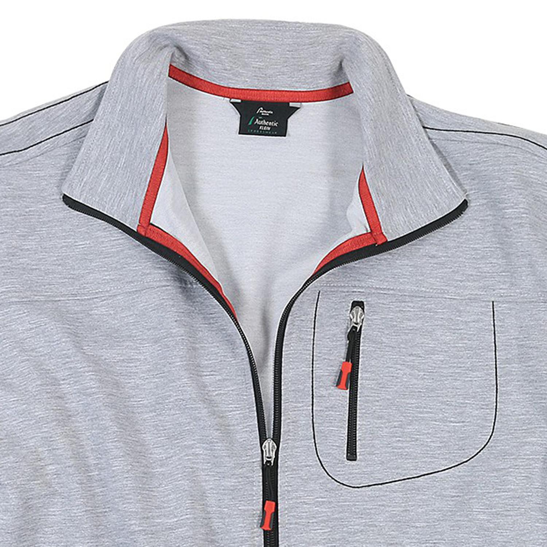 Image de détail de Veste de sport/jogging by AUTHENTIC KLEIN grandes tailles // gris clair