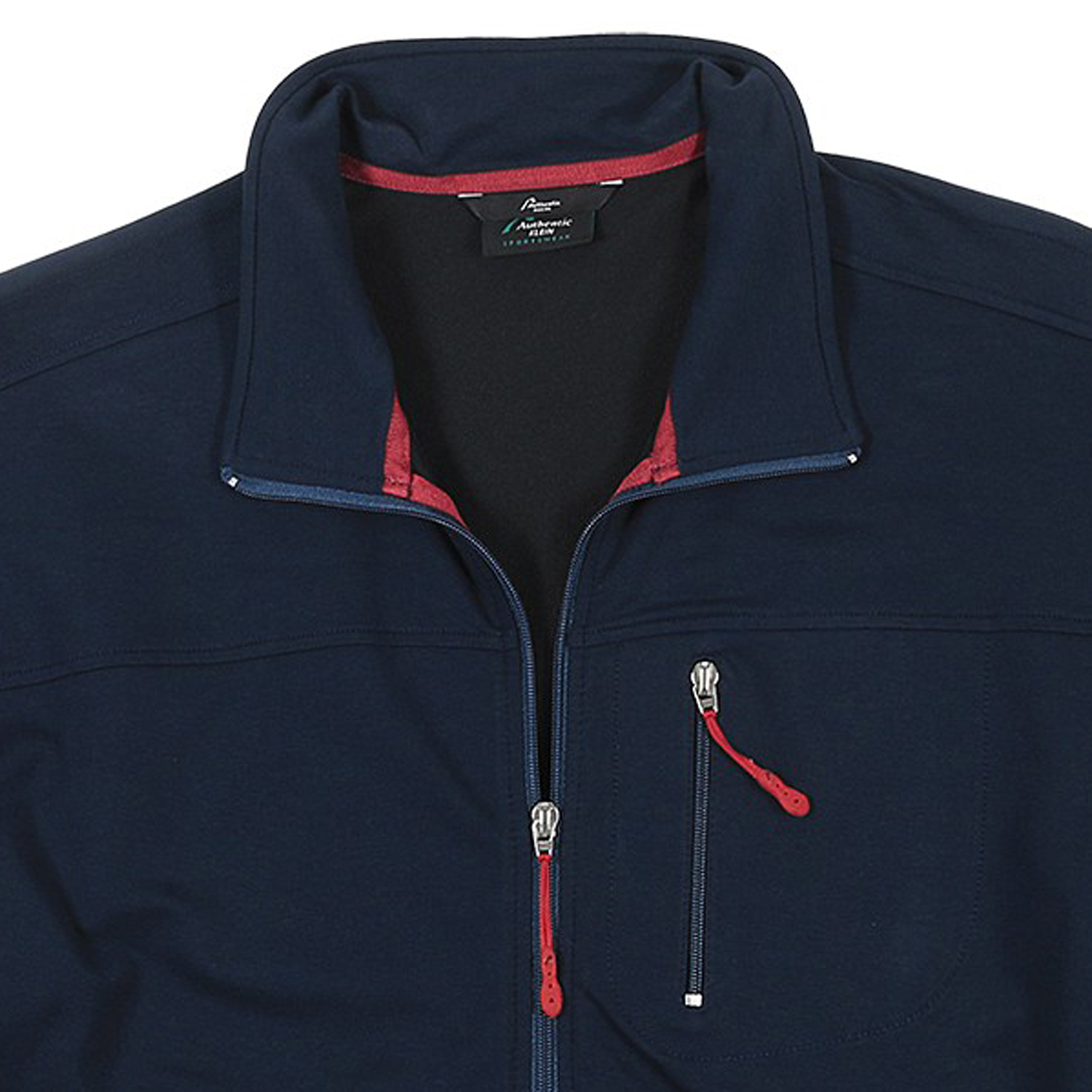 Detail Image to Sports and leisure jacket in blue, plus sizes by AUTHENTIC KLEIN