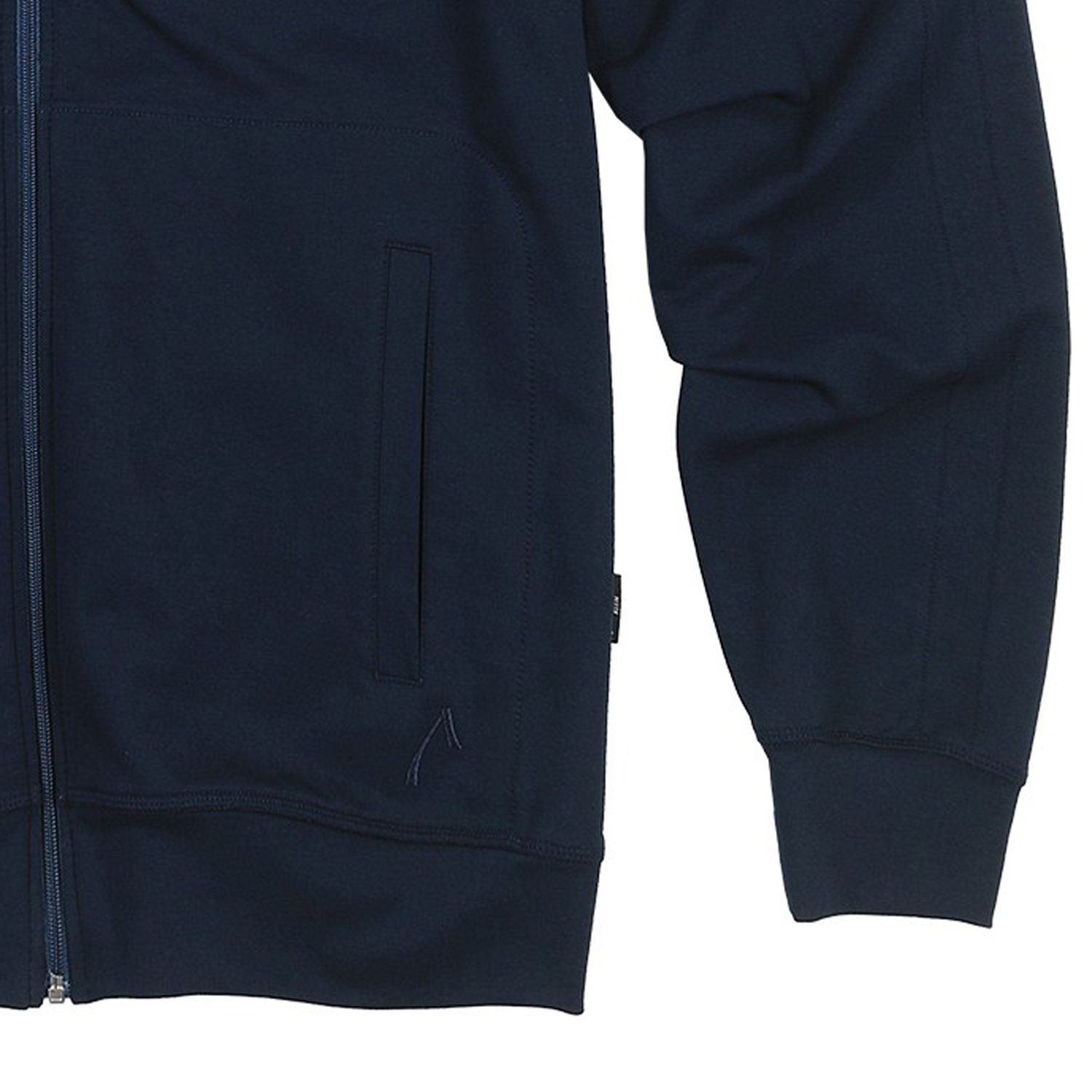 Detail Image to long size sports and leisure jacket in blue, plus sizes by AUTHENTIC KLEIN
