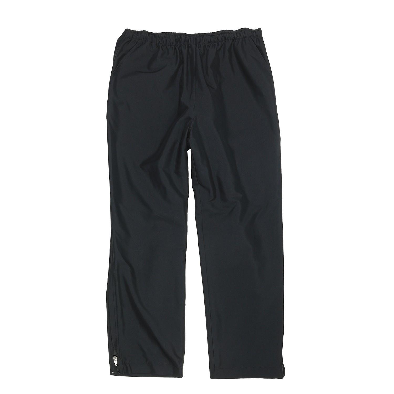 Image de détail de Pantalon de jogging noir avec fermeture éclair by AUTHENTIC KLEIN - grandes tailles