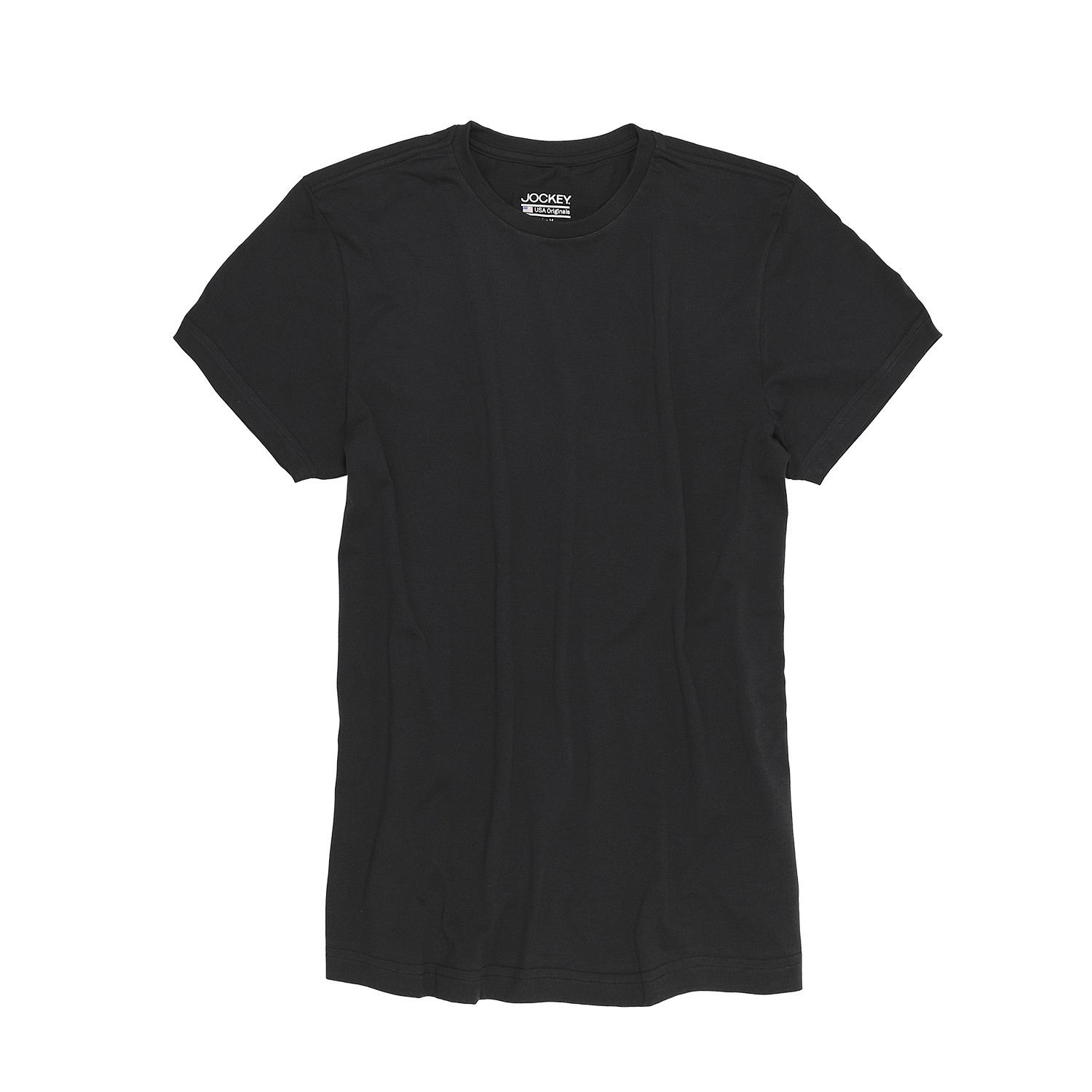 Detail Image to T-shirt from Jockey in oversize until 6XL, black