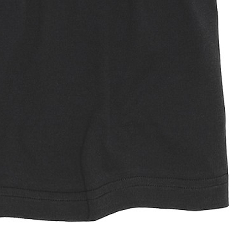 Image de détail de T-shirt noir col rond de Jockey grandes tailles jusqu'au 6XL