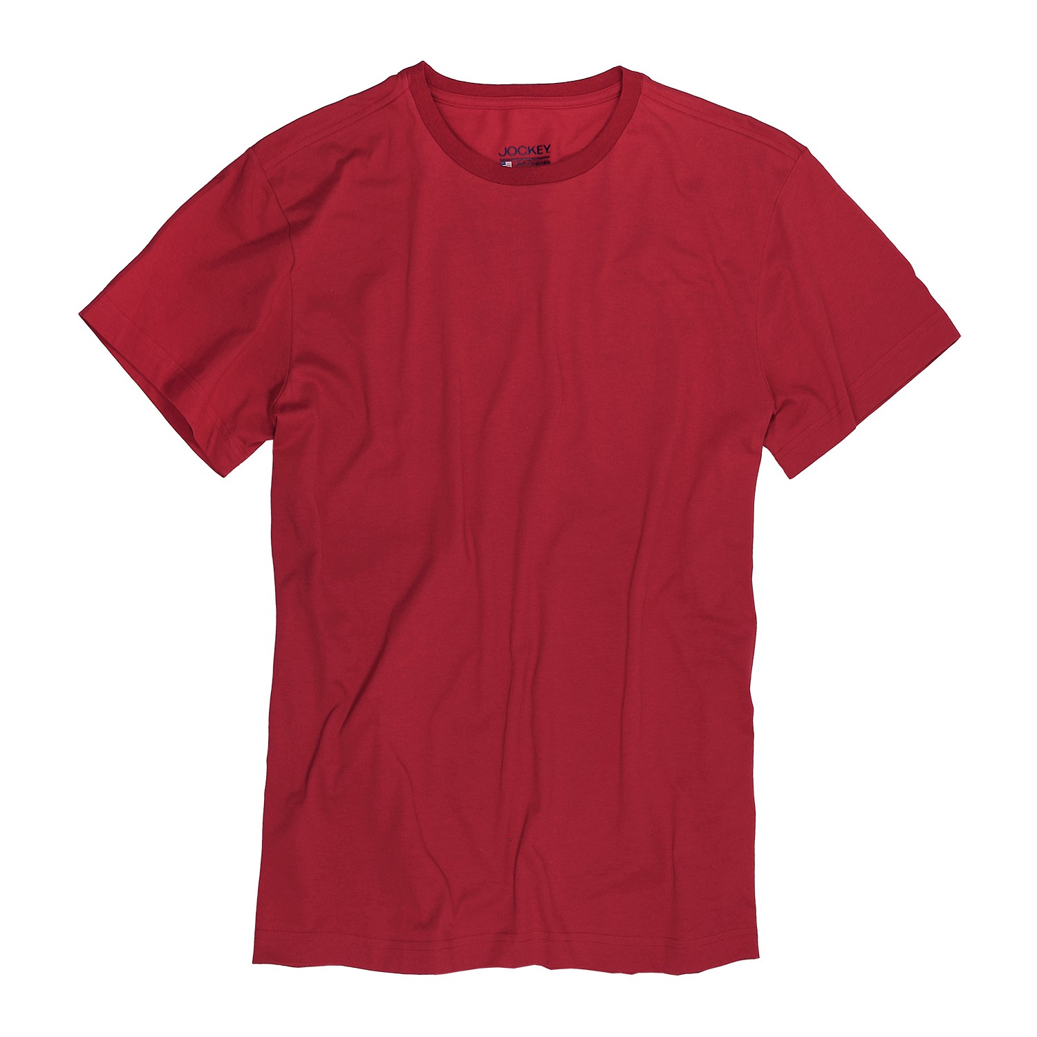 Detail Image to T-shirt from Jockey in oversize until 6XL, red