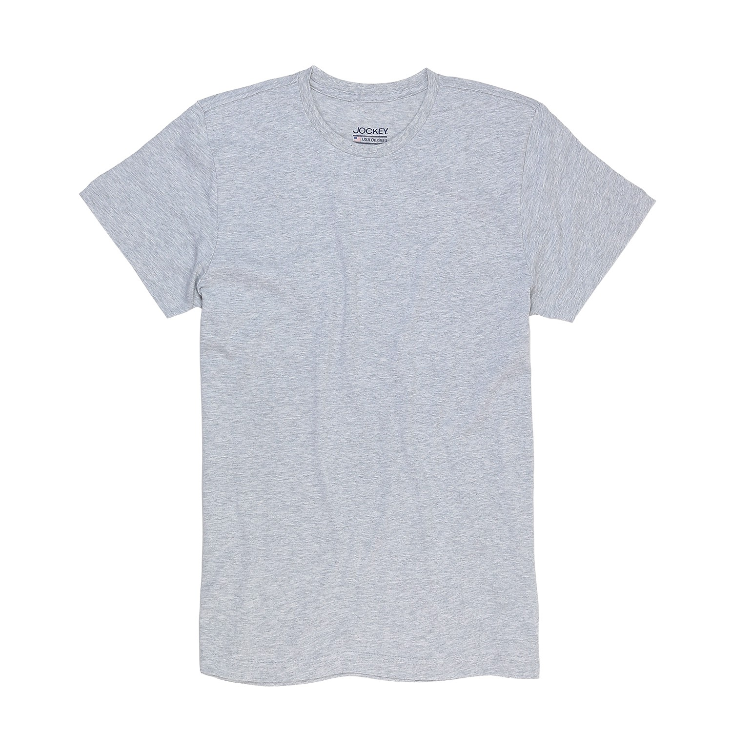 Detail Image to T-shirt from Jockey in oversize until 6XL, light grey
