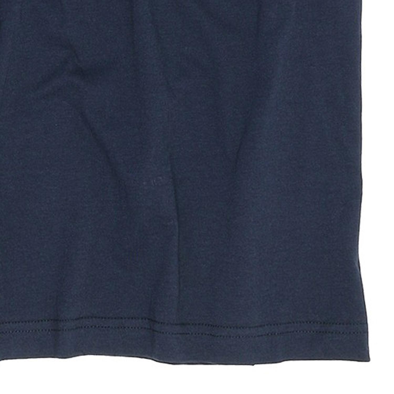 Image de détail de T-shirt bleu foncé col V de Jockey grandes tailles jusqu'au 6XL