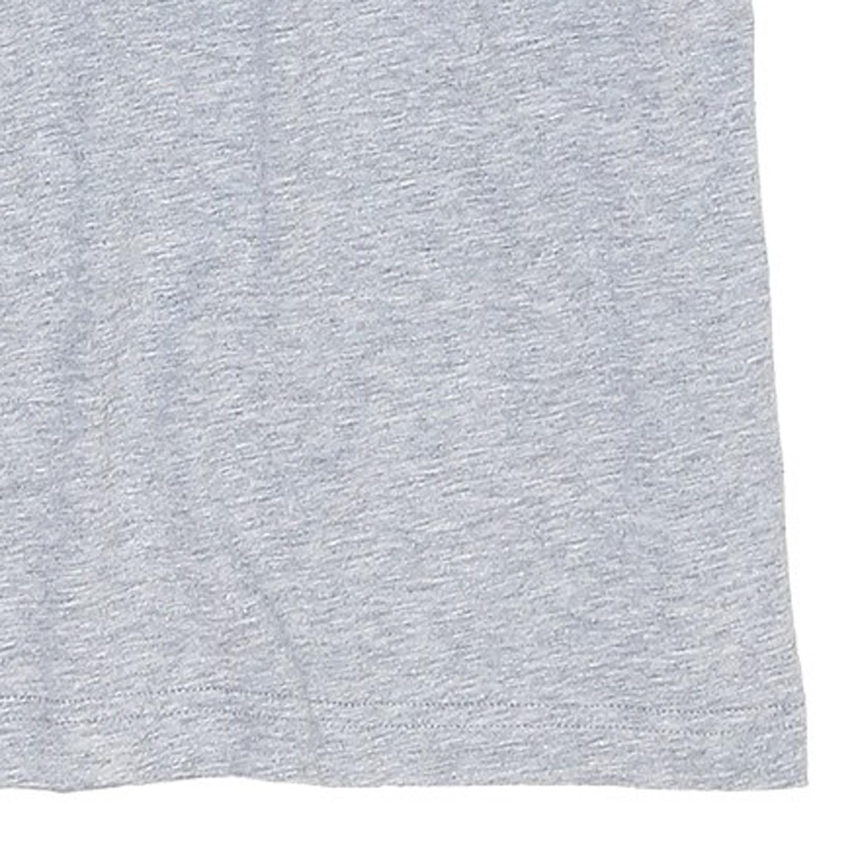 Detailbild zu T-Shirt in Übergrößen by Jockey, hellgrau mit V-Ausschnitt / Bis Größe 6XL