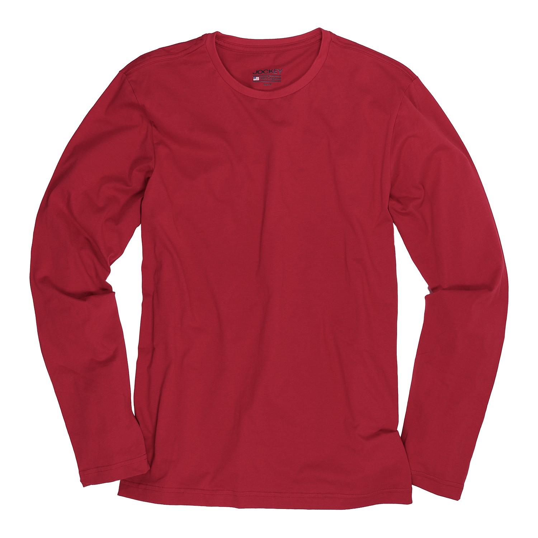 Detailbild zu Longsleeve von JOCKEY bis Größe 6XL in rot, Normal- und Übergrößen