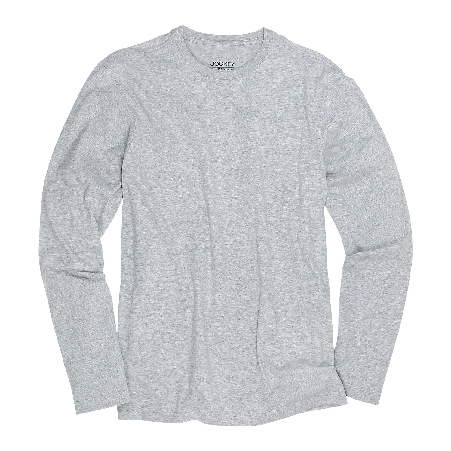 Detail Image to Long Sleeve from Jockey grey, in oversize until 6XL